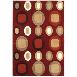 Olefin Adana Terracotta Rug (7'9 X 9'10)