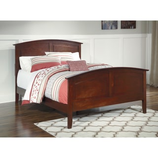 Signature Design By Ashley Colestead Cherry Queen Sleigh Bed