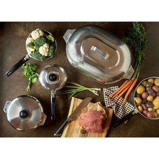 Copper Clad Stainless Steel 3-quart Covered Saucepan