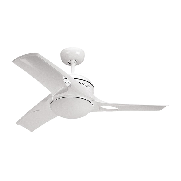 Monte Carlo Mach Two White 38-inch Ceiling Fan