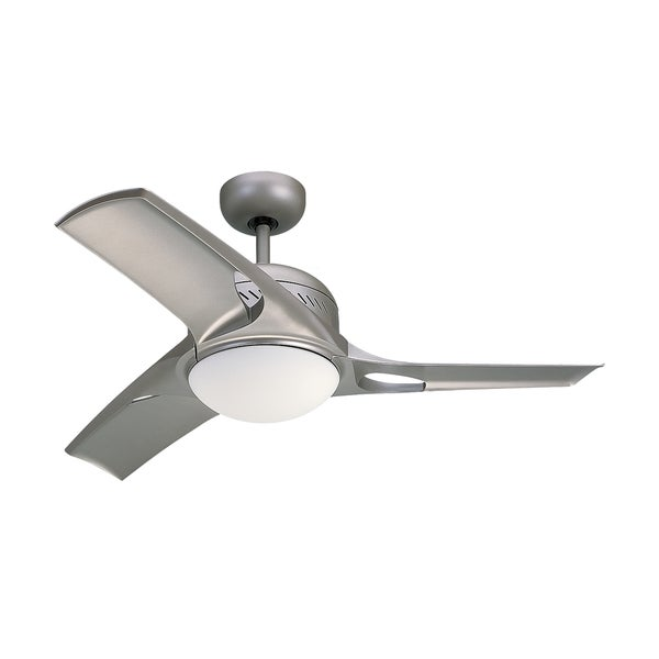 Monte Carlo Mach Two Titanium 38-inch Ceiling Fan