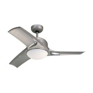 Monte Carlo Mach Two Titanium 38-inch Ceiling Fan