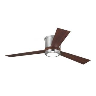 Monte Carlo Clarity Brushed Steel 52-inch Ceiling Fan