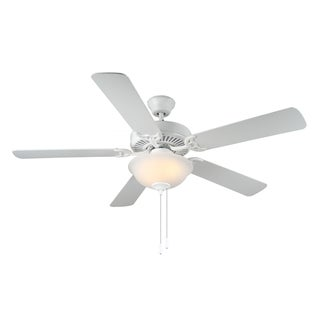 HomeBuilder II White 52-inch Ceiling Fan