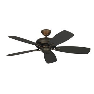 Monte Carlo Light Cast Max Roman Bronze 52-inch Ceiling Fan
