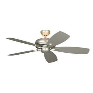 Monte Carlo Light Cast Max Brushed Pewter 52-inch Ceiling Fan
