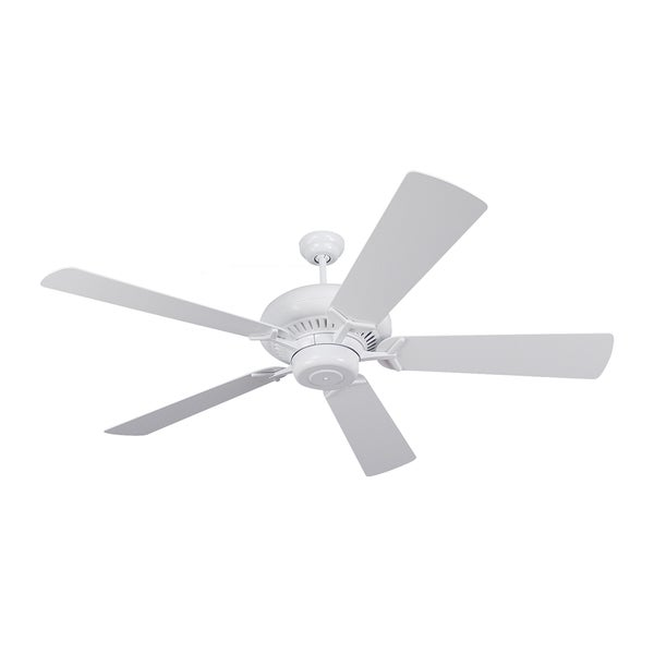 Monte Carlo Grand Prix White 60-inch Ceiling Fan