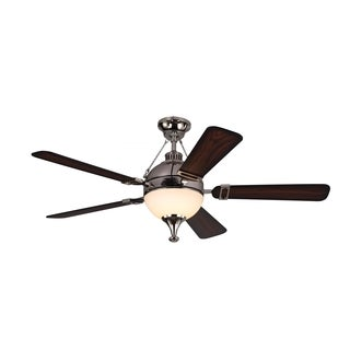 Monte Carlo Essex Polished Nickel 54-inch Ceiling Fan