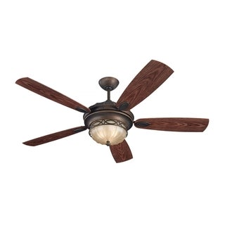 Monte Carlo Drawing Room Roman Bronze 56-inch Ceiling Fan