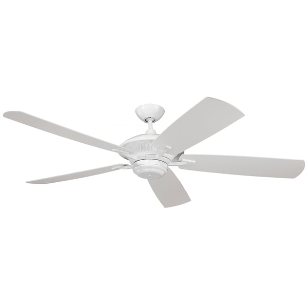 Monte Carlo Cyclone Outdoor White 60-inch Ceiling Fan