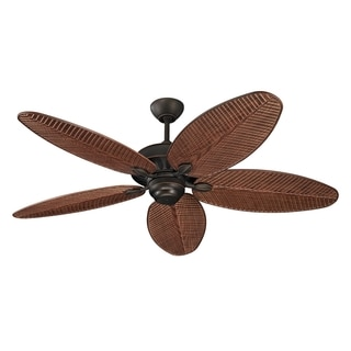 Monte Carlo Cruise Outdoor Roman Bronze Wet Rated 52-inch Ceiling Fan