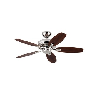 Monte Carlo Centro Max II Polished Nickel 44-inch Ceiling Fan