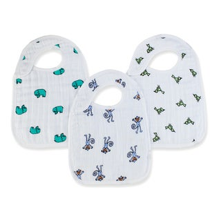 Aden and Anais Jungle Jam Classic Snap Bib (Pack of 3)