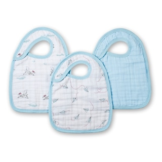 Aden and Anais Liam The Brave Classic Snap Bib (Pack of 3)
