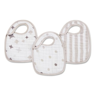 Aden and Anais Shine On Classic Snap Bib (Pack of 3)