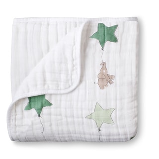 Aden and Anais Up, Up & Away Elephant Classic Dream Blanket