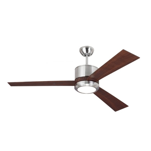 Monte Carlo Vision Brushed Steel 52-inch Ceiling Fan