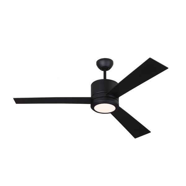 Monte Carlo Vision Rubberized Black 52-inch Ceiling Fan