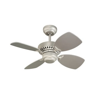 Monte Carlo Colony II Brushed Pewter 28-inch Ceiling Fan
