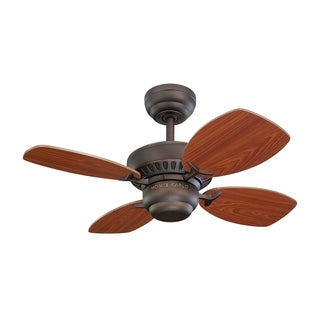Monte Carlo Colony II Roman Bronze 28-inch Ceiling Fan