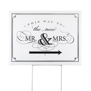 Golden Elegance Yard Sign