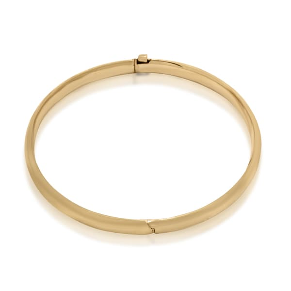 Gioelli Junior Jewels Kid's 14k Yellow Gold High-polish Simple Bangle