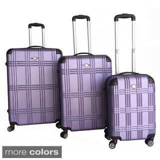 RivoLite Capri 3-piece Lightweight Hardside Expandable Spinner Luggage Set