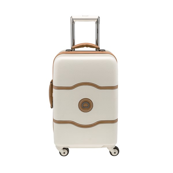 Delsey Chatelet 21-inch Carry-on Hardside Spinner Trolley Suitcase