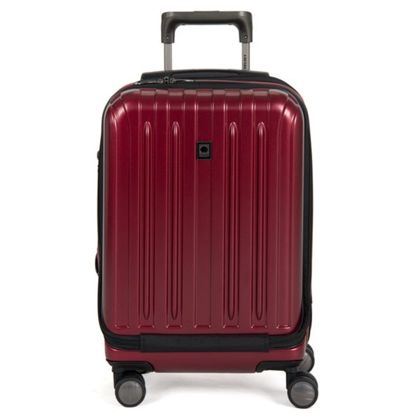 Delsey Helium Titanium 19-inch Expandable Hardside International Carry-on Spinner Suitcase