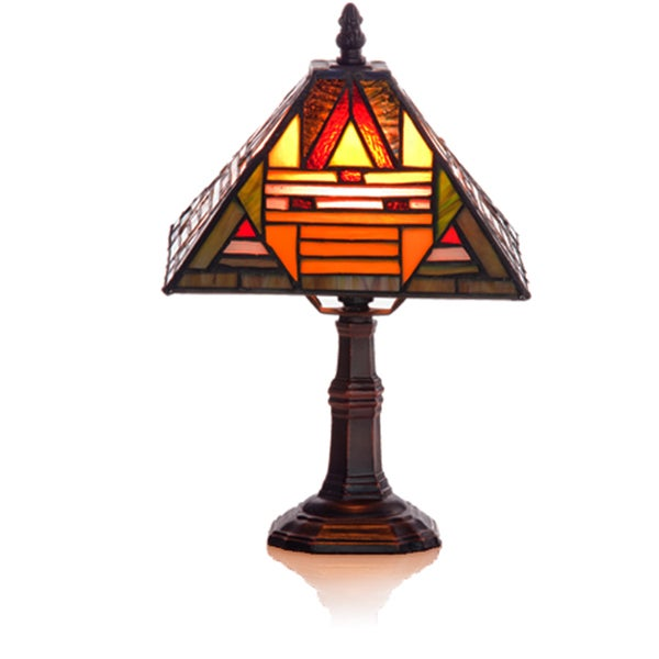 River of Goods 1-light Mini Mission Style Accent Lamp