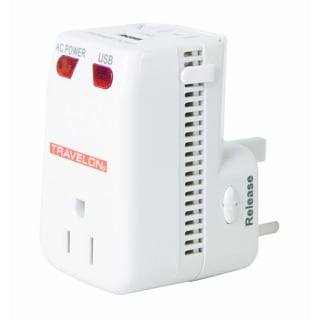 Travelon Universal 3 in 1 Adapter, Converter and USB Charger