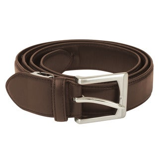 Travelon Brown Leather Money Concealing Belt (One Size)
