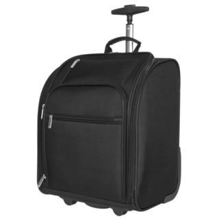 Travelon Black 14-inch Wheeled Carry-on Tote Bag