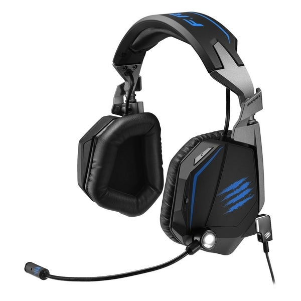 Mad Catz F.R.E.Q. TE Stereo Gaming Headset for PC, Mac, & Mobile Devi