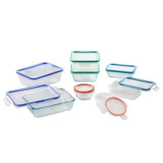 Snapware Total Solutions Glass and Plastic 16-piece Boxed Set