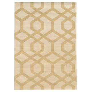 Bombay Outlet Chenille Tapis Chain Grey Rug (8' x 10')