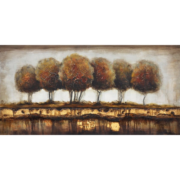 Talking Trees Original Hand Painted Wall Art