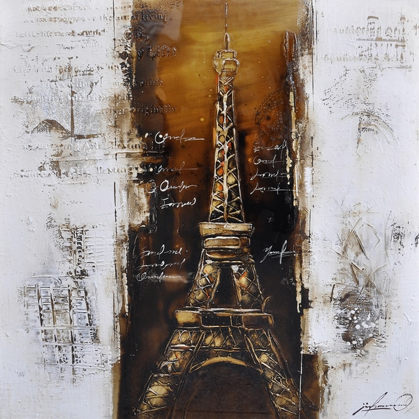 Paris a la Mode I Original Hand Painted Wall Art