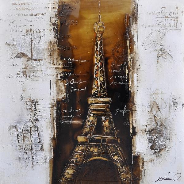 Paris a la Mode I Original Hand Painted Wall Art