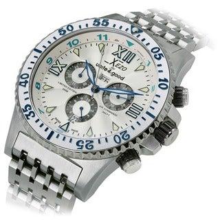 Xezo for Unite:4:good Men's Air Commando Limited-Edition Swiss Chronograph Watch