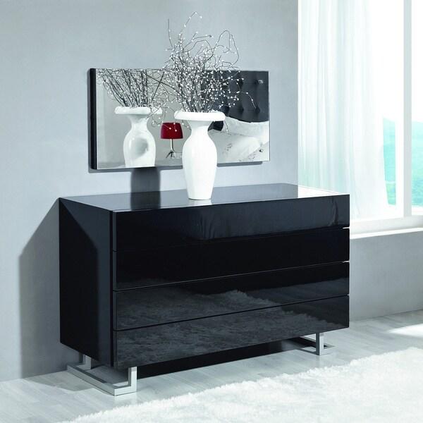 modrest lyrica black bedroom dresser 17170964