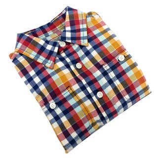 Reed Edward Infant and Toddler Boy's Plaid Button Down Shirt