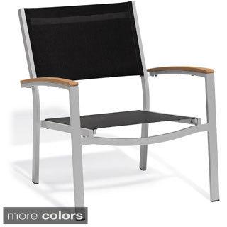 Oxford Garden Travira Black Chat Chair, Set of 4