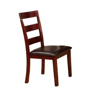 Mahogany Chair Set (Set of 2)