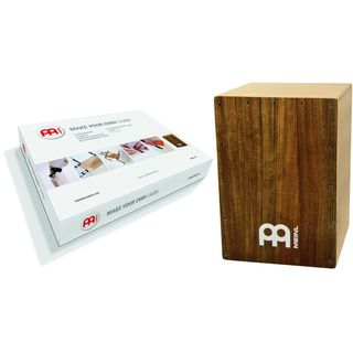 Meinl Percussion MYO-CAJ-OV Make Your Own Cajon Ovangkol Frontplate