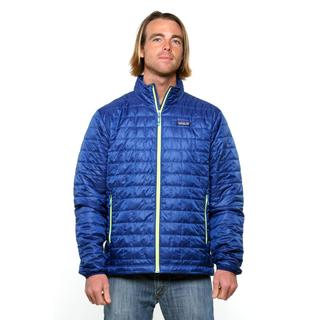 Patagonia Men's Nano Puff Channel Blue Jacket