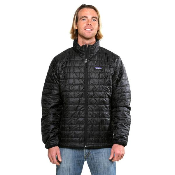Patagonia Men's Nano Puff Black Jacket