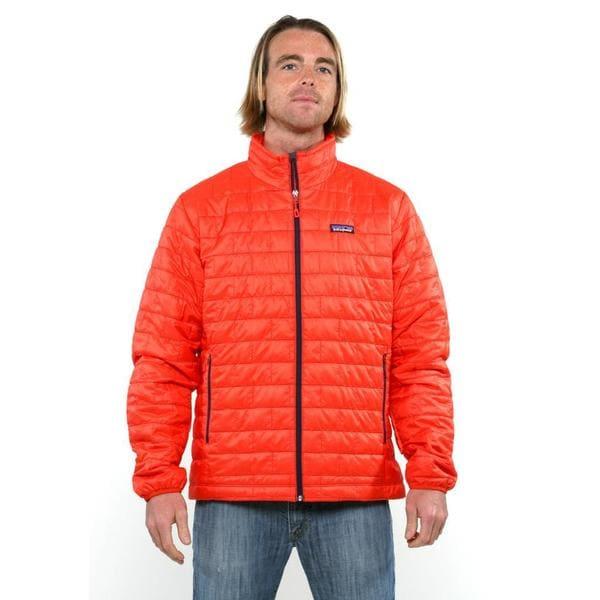 Patagonia Men's Nano Puff Turkish Red Jacket