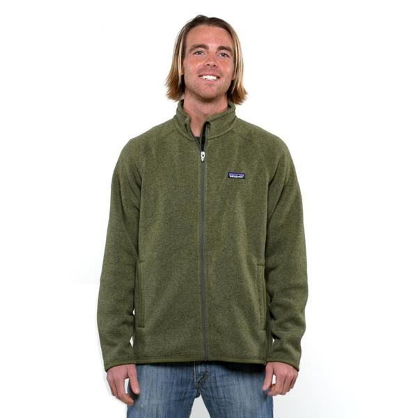 Patagonia Men's Better Sweater Fatigue Green Fleece Jacket