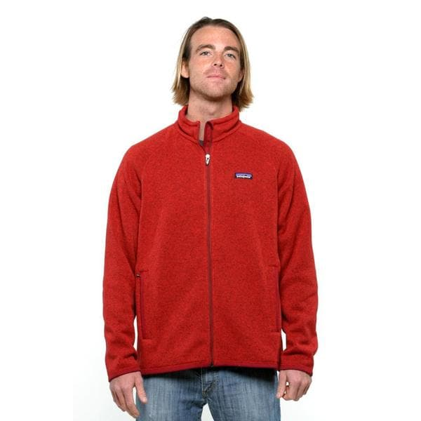 Patagonia Men's Cochineal Red Better Sweater Fleece Jacket